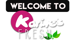Welcome to Karines Fresh with Logo
